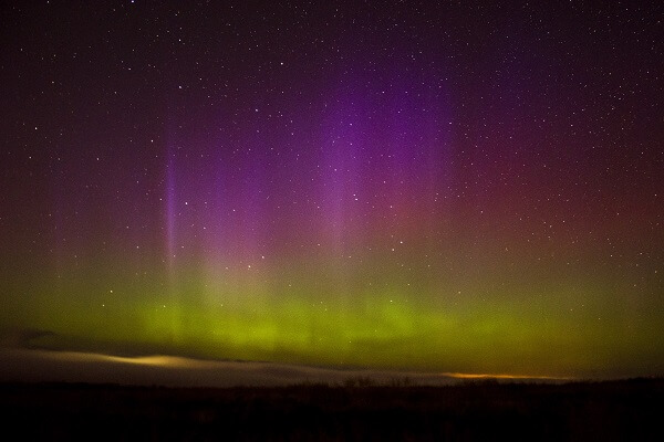 Patrizia Henderson Photography, Northern Lights in Sheriffmuir, Stirling