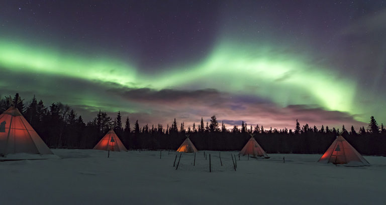 holidays to see the northern lights